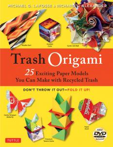 Trash Origami Cover